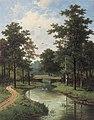 Simonis & Buunk – Pieter Hendrik Koekkoek – A view of a park.jpg