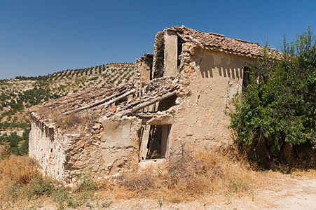 ruin in Andalusia