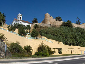 Sines - The ancient centre of Sines: the castle was initiated as protection from pirates in 1362