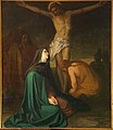 Sint-Pieters-Kapelle Herne Jezus sterft 1399.jpg