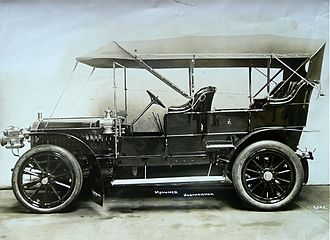 Arthur Mulliner - early motorcar body by Mulliner of Northampton for Sir Alfred Herbert Napier chassis