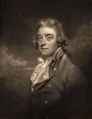 Sir Brooke Boothby, 6th Baronet - Print by John Raphael Smith after Reynolds
