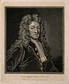 Sir Christopher Wren. Line engraving by T. Holloway, 1798, a Wellcome V0006655.jpg