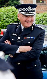 Paul Stephenson (police officer) British police officer