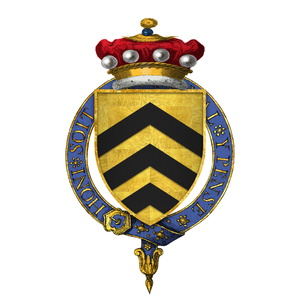 Walter Manny, 1st Baron Manny - Arms of Sir Walter Manny, 1st Baron Manny, KG