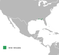 Siren reticulata distribution map.png