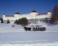 Sleigh ride at the Mount Washington Hotel and Resort, Bretton Woods, New Hampshire LCCN2011633873.tif