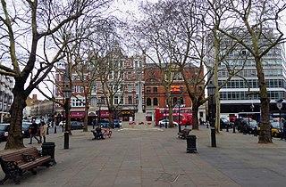 Sloane Square square in London