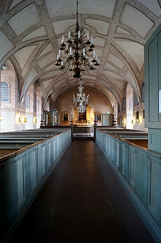 Kalmar Castle - The castle chapel.