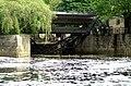 Sluice on River Avon , Pulteney Weir, Bath - geograph.org.uk - 178908.jpg