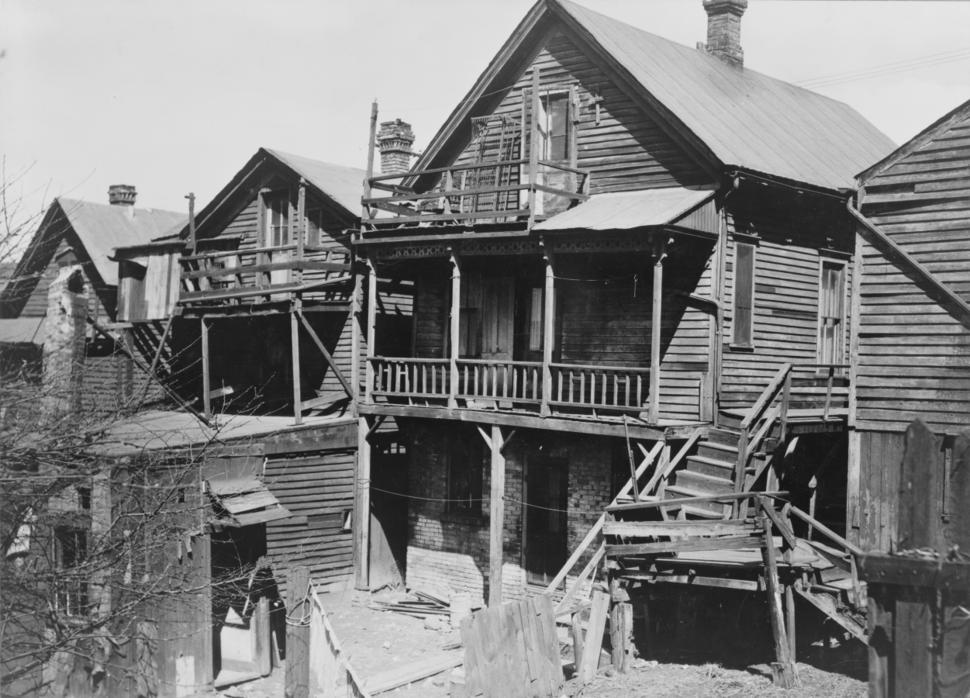 Slums in milwaukee 1936