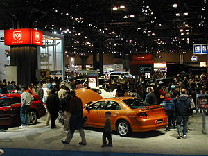 New York International Auto Show - A small section of the 2005 show