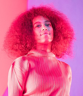 Solange Knowles - Solange at the stage of Piknik i Parken 2017 in Oslo, Norway