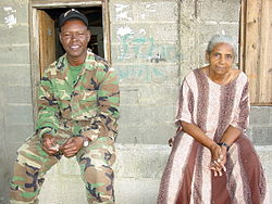 Soldier and Elderly Woman - Puerto Plata - Dominican Republic.jpg