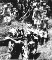 Soldiers of IJA 15th Army are carrying a Type 92 battalion gun.jpg