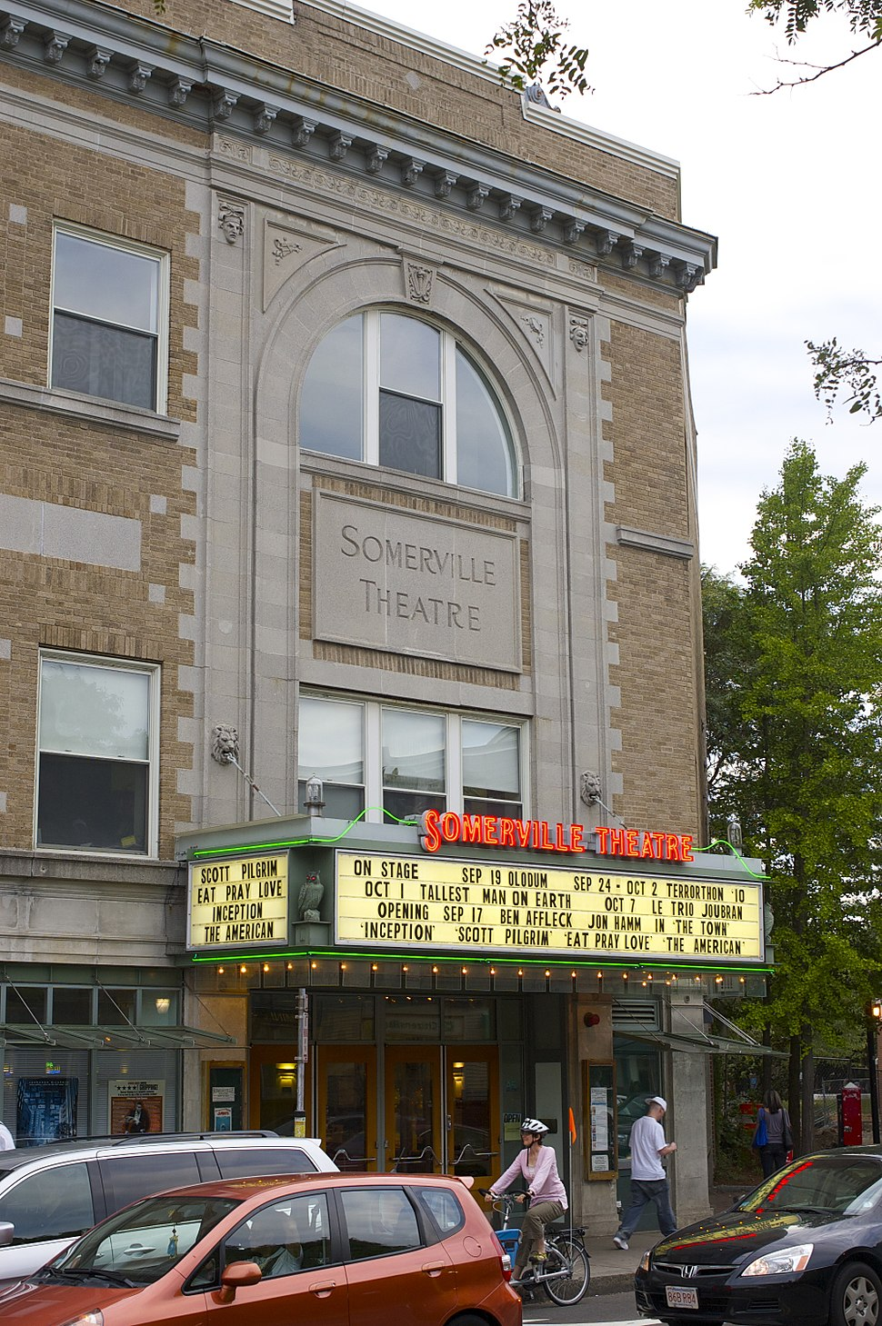 Somerville Theatre detail