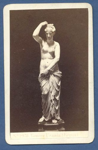 Aphrodite of Knidos - Image: Sommer, Giorgio (1834 1891) Venere Urania (Firenze) ca. 1860
