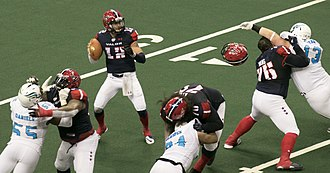 Washington Valor - The Valor playing the Philadelphia Soul in 2017