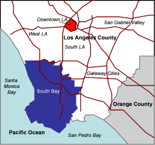 South Bay (Los Angeles County) Region of the Los Angeles metropolitan area in California, United States