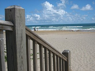 South Padre International Music Festival - Image: South Padre Island Beach