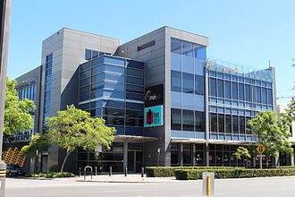 Mix 94.5 - Mix 94.5's broadcast centre in Subiaco, which also houses HIT 92.9