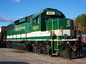 EMD GP59 - SOU 4610, owned by Norfolk Southern