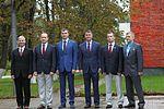 Soyuz MS-02 crew and backup crew members depart Star City.jpg