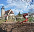 Spielplatz hinter der katholischen Kirche - panoramio.jpg