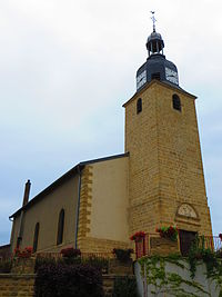 Spincourt L'église Saint-Pierre.JPG