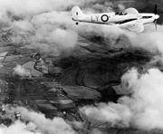 Spitfire 1 PRU RAF in flight c1941