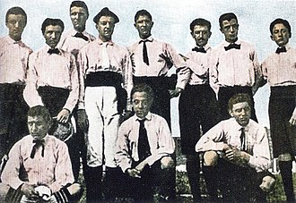Juventus F.C. - Historic first ever Juventus club shot, circa 1897 to 1898