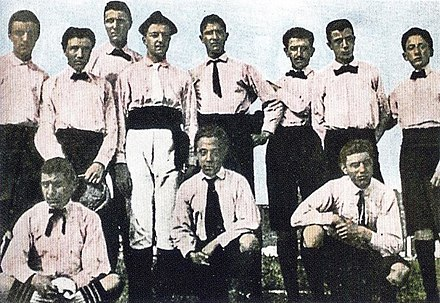 Historic first ever Juventus club shot 5ee0c3763