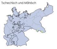 Sprachen deutsches reich 1900 tschechisch
