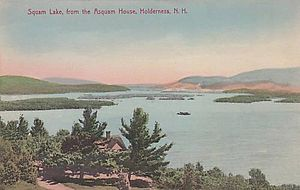 Squam Lake - Squam Lake from the Asquam House, Holderness, NH