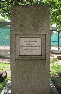 Stèle et plaque François de Labouchère boulevard Flandrin.jpg