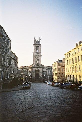 Architecture of Scotland in the Industrial Revolution - The Gracco-Baroque St Stephen's, Edinburgh