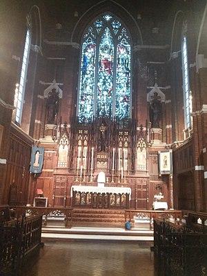 Joseph Maltby Bignell - Image: St michael walthamstow chancel