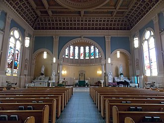 St. John Gualbert Cathedral (Johnstown, Pennsylvania) - Cathedral interior