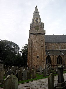 St. Machar's Cathedral tower, Aberdeen.jpg