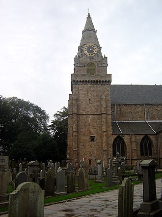 John Barbour (poet) - St Machar's Cathedral, where Barbour was archdeacon.
