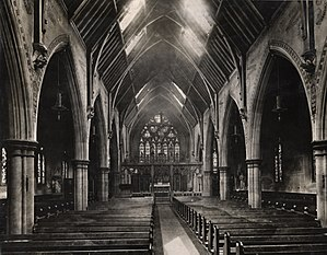 St Mary's Cathedral, Newcastle upon Tyne - Image: St. Mary's Cathedral Newcastle (c. 1900)