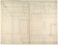 St. Peter's, drum, interior, elevation (recto) St. Peter's, drum, pedestal, section (verso) MET DP819040.jpg