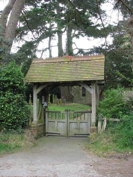File:St Andrew's church - lych gate - geograph.org.uk - 1284604.jpg