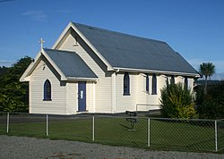 St Anne's Church in Whataroa