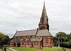 St Barnabas, Bromborough from southeast.jpg