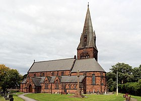 St Barnabas, Bromborough from southeast.jpg