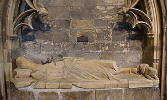 James Douglas, Lord of Douglas - Tomb of Sir James, St Bride's Kirk, Douglas