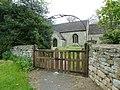 St Guthlac's Church, Little Ponton, Gate (geograph 2979786).jpg