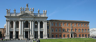 Lateran - View showing Basilica and Palace