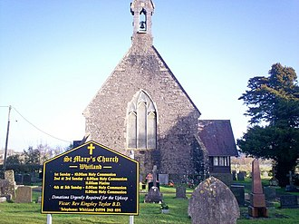 Whitland - St Mary's Church, Whitland